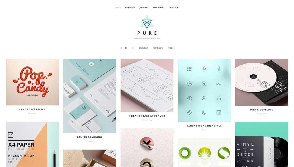 free-pure-wordpress-theme