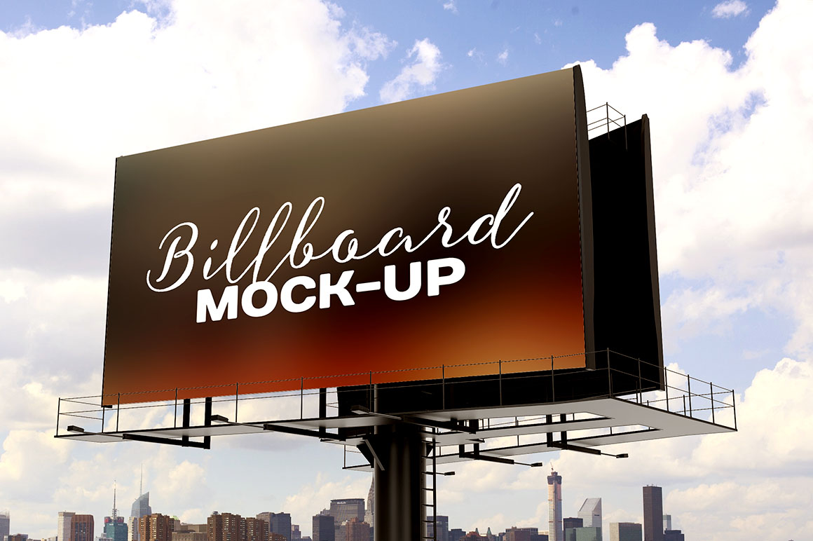 Free Billboard Mockup Freebies Amp Deals For Graphic