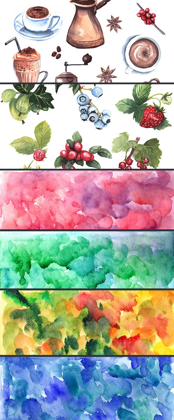 inkydeals-gorgeous-watercolor-collection-preview