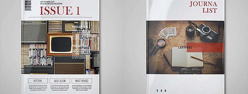 Free InDesign Template • Multipurpose Magazine |