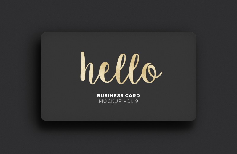 Free mockup gold foil business card freebies deals for graphic free mockup gold foil business card reheart Gallery