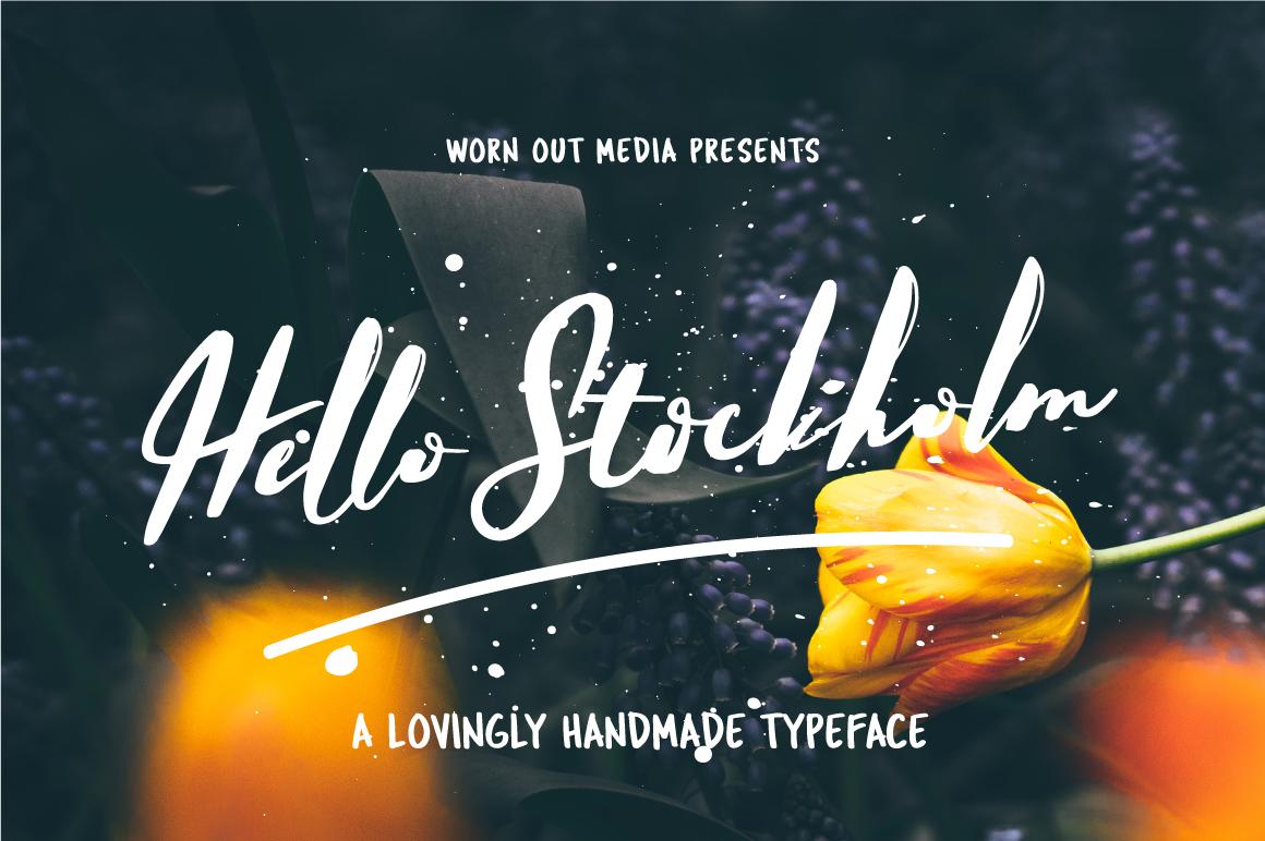 Hello Stockholm Font