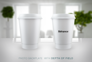 Free Mockup | Starbucks Style Cup