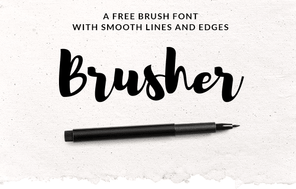 Free Font Brusher Free Commercial Use Fonts Amp Graphics
