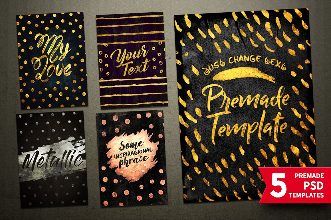 TOOLKIT Gold Paint Effect Photoshop - Layer Styles - 14