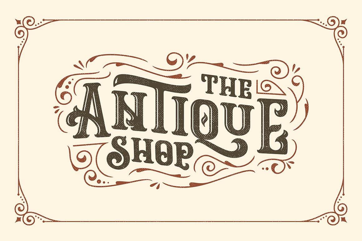 free font  u2013 ropstone vintage typeface
