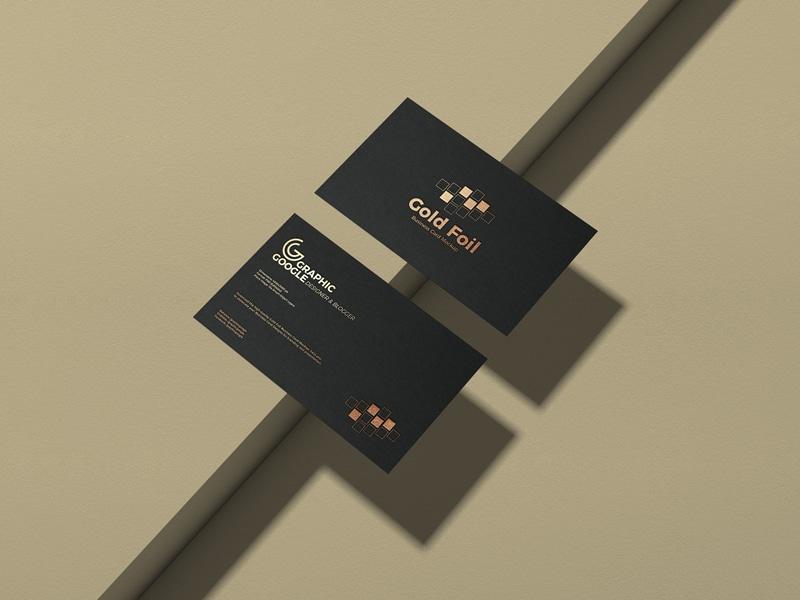 Free-Gold-Foil-Business-Card-Mockup-PSD-Vol-2-600