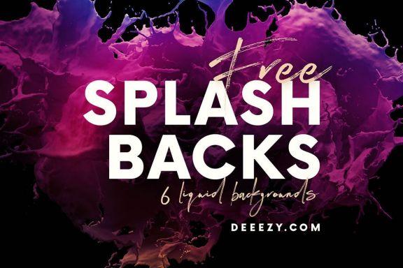 Amazing Splash Backgrounds